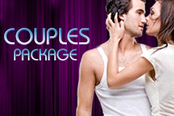 </p> <h3>COUPLES PACKAGE - $89</h3> <p>